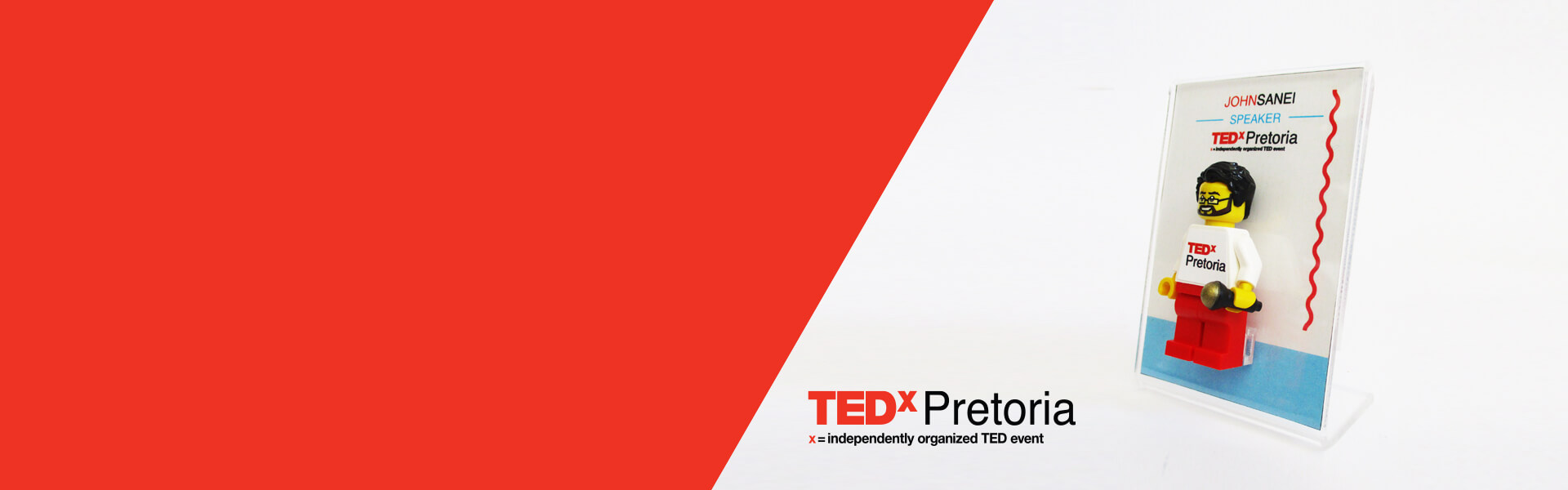 """The TEDxPretoria speakers were obsessed  with their unique personalized mini-me's!"""
