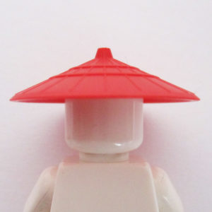 Asian Conical Hat - Red