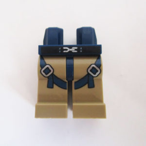 Dark Blue & Tan w/ Belt & Straps