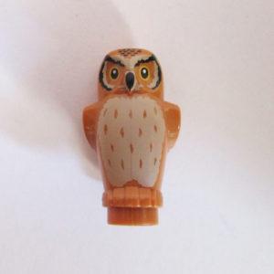 Owl - Light Brown w/ Light Tan