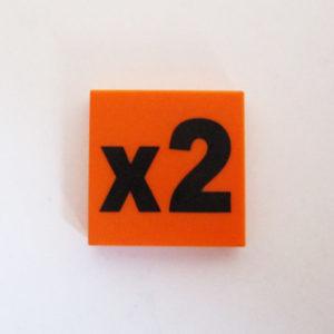Orange Tile w/ 2x
