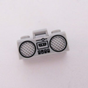 Boom Box - Light Grey w/ Black
