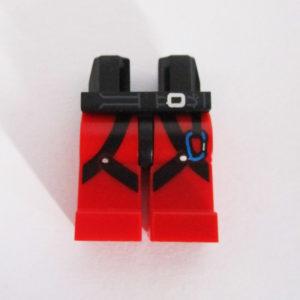 Red & Black w/ Straps & Blue Carabiner