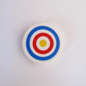 White Tile w/ Target Design
