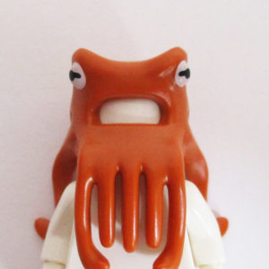 Octopus Mask w/ Tentacles