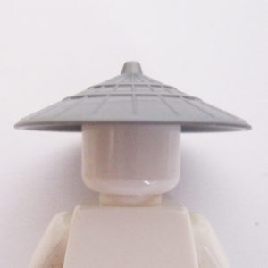 Asian Conical Hat - Silver