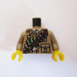Tan w/ Pockets & Ammunition Belt Over Shoulder