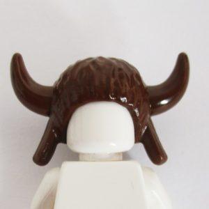 Buffalo Horned Headdress - Brown