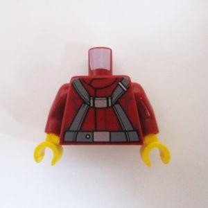 Dark Red w/ Dark Grey Harness