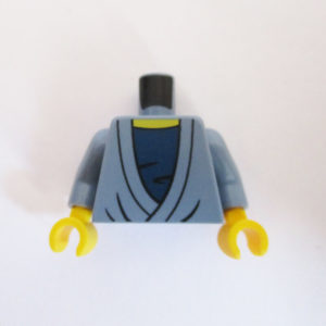 Sand Blue Robe w/ Dark Blue Top