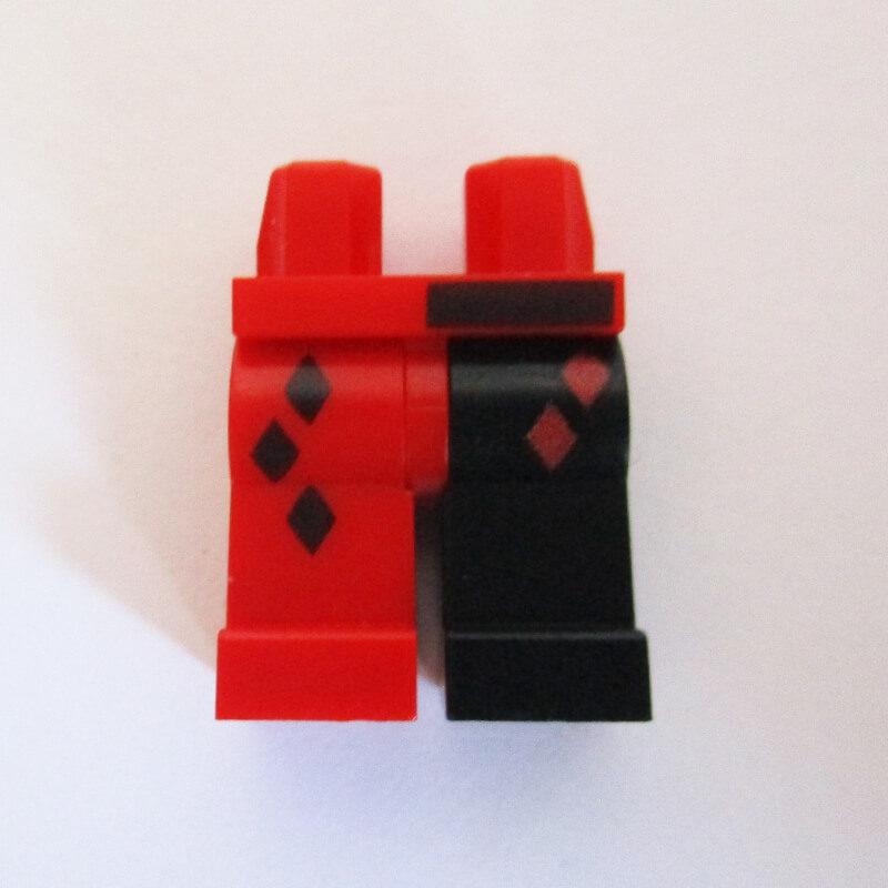 Black & Red w/ Diamonds