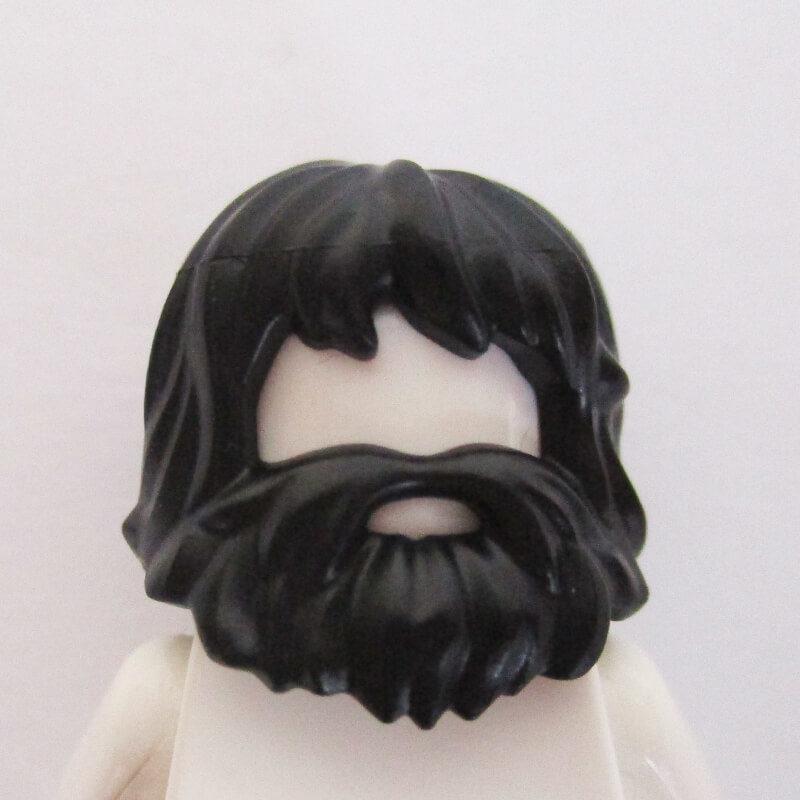 Mid-Length w/ Full Beard