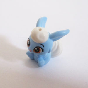 Bunny w/ Fluffy Tail - Light Blue