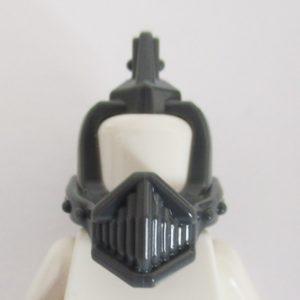 Dark Grey Helm w/ Grill & Spikes