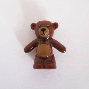Teddy Bear - Dark Brown w/ Bow Tie