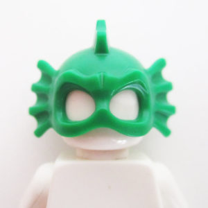 Swamp Thing Mask - Green w/ Fins