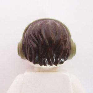 Short & Messy w/ Headphones