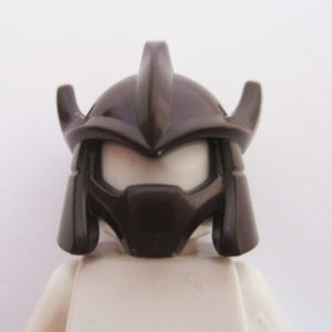 Trident Shaped Helm ( Shredder ) - Dark Brown