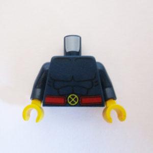 Dark Blue w/ Muscles & X-Men Belt