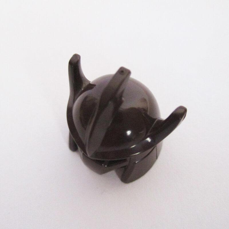 Trident Shaped Helm ( Shredder ) - Dark Brown