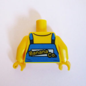 Yellow Shirt w/ Blue Dungarees & Banana Graphic