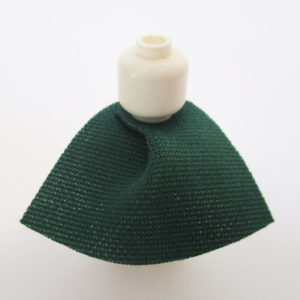 Dark Green, Short Version - Stretchable Fabric