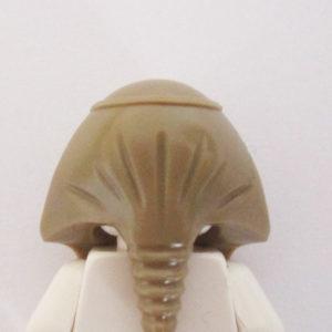 Tan Mummy Headdress w/ Snake Graphics