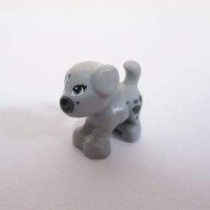 Puppy - Light Grey w/ Grey Patches