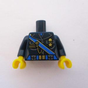 Dark Blue w/ Blue Strap & Gold Designs