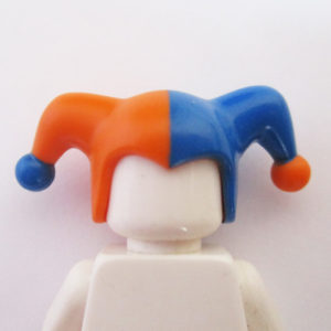 Jesters Cap - Blue & Orange