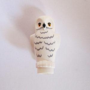 Owl - White w/ Grey