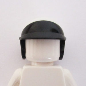 Open Face Helm - Black & White