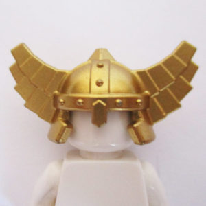 Viking Helm w/ Wings - Gold