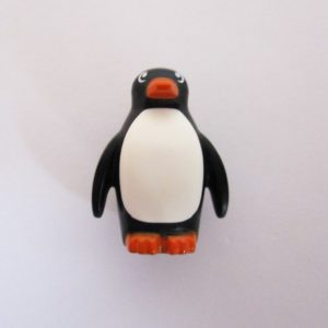 Penguin - Black w/ White