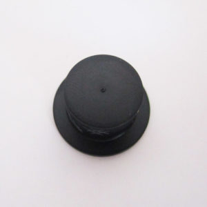 Top Hat - Black w/ Grey Scratches