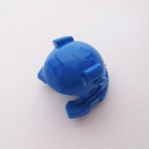 Underwater Helm w/ Breathing Hose - Blue