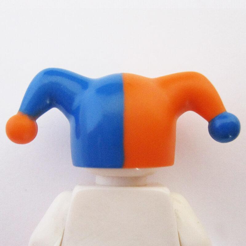 Jesters Cap - Blue & Orange