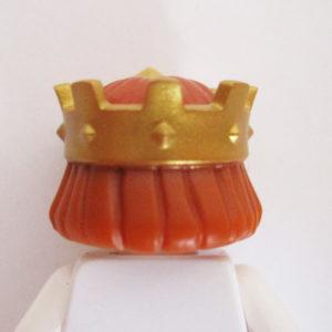 Gold Kings Crown w/ Ginger Hair