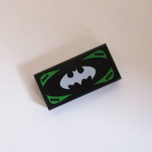 """Batman Currency"" - Black & White w/ Green"