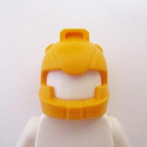 Standard Helm w/ Air Intakes - Bright Light Orange