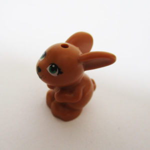 Bunny, Crouching - Light Brown