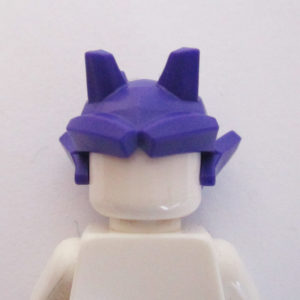 Abstract Horns Helm - Dark Purple