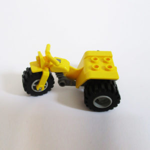 3 Wheeler - Yellow