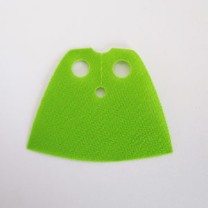 Lime Green, Short Version - Starched Fabric