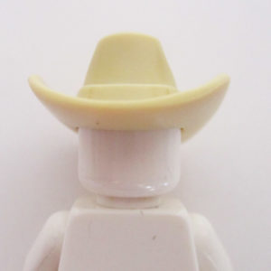 Cowboy Hat w/ Fold - Light Tan