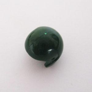 Open Face Helm - Dark Green
