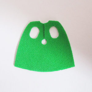 Green, Short Version - Stretchable Fabric