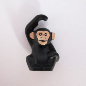 Chimpanzee - Black w/ Light Tan
