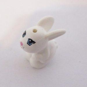 Bunny, Crouching - White