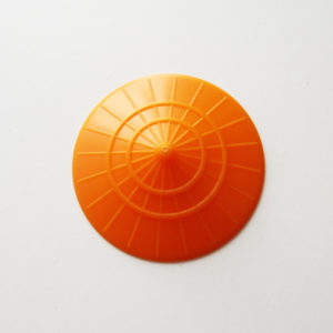 Asian Conical Hat - Orange